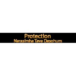 Protection - Narasimha Tava Dasohum